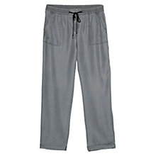 Buy Violeta by Mango Baggy Soft Trousers, Light Grey Online at johnlewis.com
