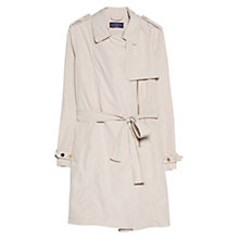 Buy Violeta by Mango Zip Fastening Trench Coat, Trench Coat Online at johnlewis.com