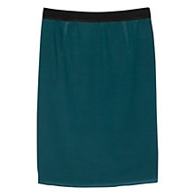 Buy Violeta by Mango Ponte Skirt, Bright Green Online at johnlewis.com