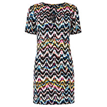 Buy Warehouse Summer Aztec Shift Dress, Multi Online at johnlewis.com