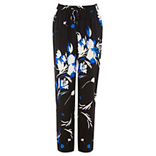Buy Warehouse Watercolour Wide Leg Trousers, Multi Online at johnlewis.com