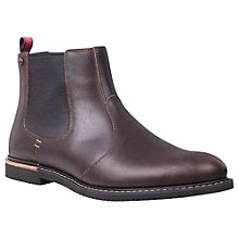 Buy Timberland Brook Park Chelsea Leather Boots, Brown Online at johnlewis.com
