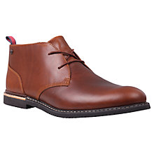 Buy Timberland Brook Park Chukka Boots, Red Brown Online at johnlewis.com