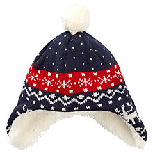 Buy John Lewis Baby's Moose Hat, Multi Online at johnlewis.com