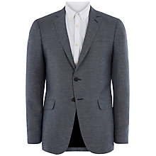 Buy Jaeger Micro Texture Modern Blazer, Nightshadow Blue Online at johnlewis.com