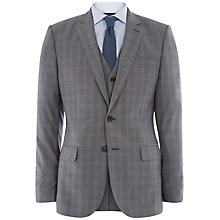 Buy Jaeger Cool Wool Check Modern Suit Jacket, Grey Online at johnlewis.com