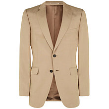 Buy Jaeger Silk Linen Classic Jacket, Oatmeal Online at johnlewis.com