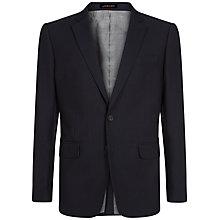 Buy Jaeger Wool Blend Modern Blazer, Navy Online at johnlewis.com