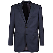 Buy Jaeger Pick and Pick Classic Wool Blazer, Royal Blue Online at johnlewis.com