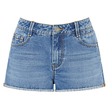 Buy Warehouse Denim Turn Up Shorts Online at johnlewis.com