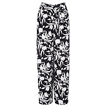 Buy Oasis Flourishing Shadow Trousers, Multi Online at johnlewis.com