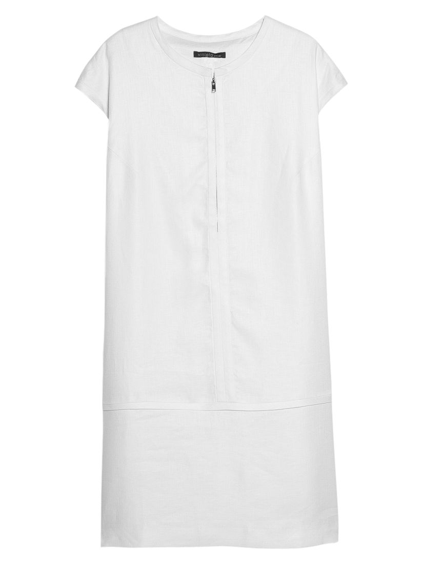 violeta by mango linen zip dress, violeta, mango, linen, zip, dress, violeta by mango, white|white|white|white|white|yellow|yellow|yellow|yellow|yellow, 14|18|22|20|16|18|20|14|16|22, women, plus size, womens dresses, 1943256