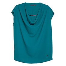 Buy Violeta by Mango Draped Blouse Online at johnlewis.com