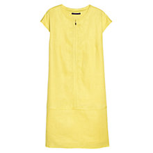 Buy Violeta by Mango Linen Zip Dress Online at johnlewis.com