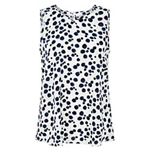 Buy Hobbs Lottie Top, Ink Multi Online at johnlewis.com