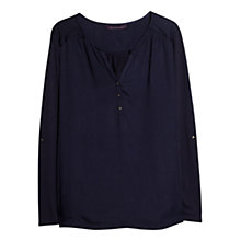 Buy Violeta by Mango Flowy Panel Blouse Online at johnlewis.com