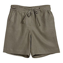 Buy Violeta by Mango Linen Bow Bermuda Shorts Online at johnlewis.com