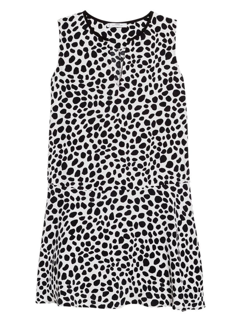 mango printed ruffle dress natural white, mango, printed, ruffle, dress, natural, white, 6|14|12|8|10, women, womens dresses, new in clothing, 1941481