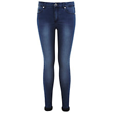 Buy Miss Selfridge Ultra Soft Super Skinny Jeans, Mid Wash Online at johnlewis.com