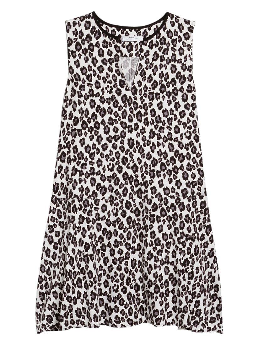 mango leopard print dress natural white, mango, leopard, print, dress, natural, white, 14|12|8|10|6, women, womens dresses, new in clothing, 1941698