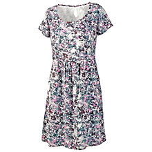 Buy Fat Face Oakford Dobby Floral Dress, Multi Online at johnlewis.com