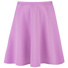 Buy Ted Baker Neoprene Full Skirt, Pale Purple Online at johnlewis.com