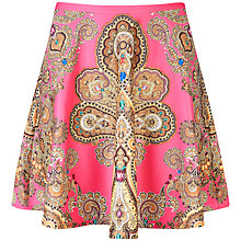Buy Ted Baker Paisley Print Skirt, French Rose Online at johnlewis.com
