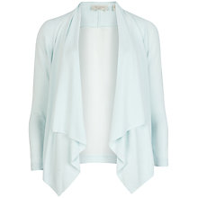 Buy Ted Baker Dailia Elegant Waterfall Cardigan, Light Green Online at johnlewis.com