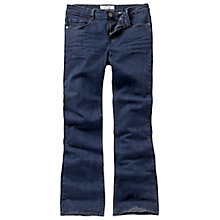 Buy Fat Face Smithy Bootcut Overdyed Jeans, Blue Online at johnlewis.com