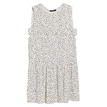 Buy Mango Printed Cut-Out Dress Online at johnlewis.com