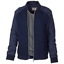 Buy Fat Face Bramford Bomber Jacket, Navy Online at johnlewis.com