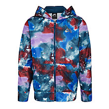 Buy Nike SB Boys' Galaxy Full Zip Hoodie, Blue Online at johnlewis.com