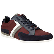 Buy BOSS Green Spacito Textile Mix Trainers Online at johnlewis.com