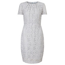 Buy John Lewis Cecila Lace Dress, Grey Online at johnlewis.com