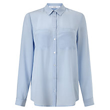 Buy John Lewis Jeanne Pocket Detail Silk Blouse Online at johnlewis.com