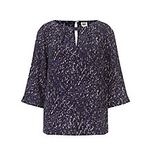 Buy Kin by John Lewis Kyoto Print Top, Blue Online at johnlewis.com