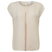 Buy John Lewis Laura Silk Blouse, Soft Pink Online at johnlewis.com