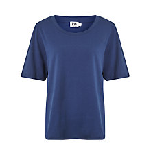 Buy Kin by John Lewis Seam Detail T-Shirt, Blue Online at johnlewis.com