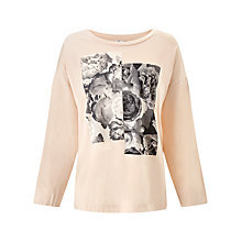 Buy Kin by John Lewis Printed Boxy T-Shirt Online at johnlewis.com