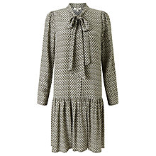 Buy Somerset by Alice Temperley Tile Print Dress, Green Online at johnlewis.com