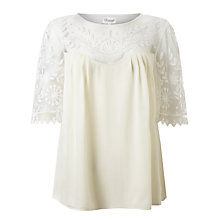 Buy Somerset by Alice Temperley Embroidered Silk Top Online at johnlewis.com