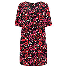 Buy Somerset by Alice Temperley Floral Print Tunic Dress, Multi Online at johnlewis.com