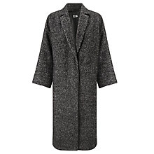 Buy Kin by John Lewis Textured Cocoon Coat Online at johnlewis.com