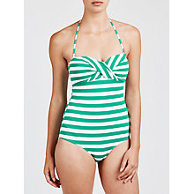 Buy John Lewis Textured Stripe Swimsuit Online at johnlewis.com