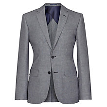 Buy Reiss Elm B Linen Blend Blazer, Grey Online at johnlewis.com