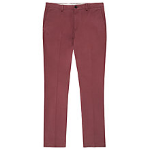 Buy Reiss Bennett Straight Leg Chinos, Rose Online at johnlewis.com