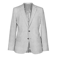 Buy Reiss Robbie Check Tailored Suit Jacket, Grey Online at johnlewis.com