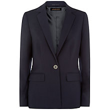 Buy Jaeger Wool Blend Blazer, Midnight Online at johnlewis.com