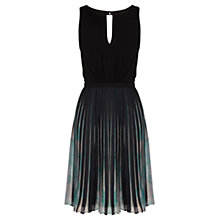 Buy Coast Elbany Pleated Dress, Multi Online at johnlewis.com