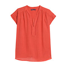 Buy Violeta by Mango Check Pattern Blouse Online at johnlewis.com